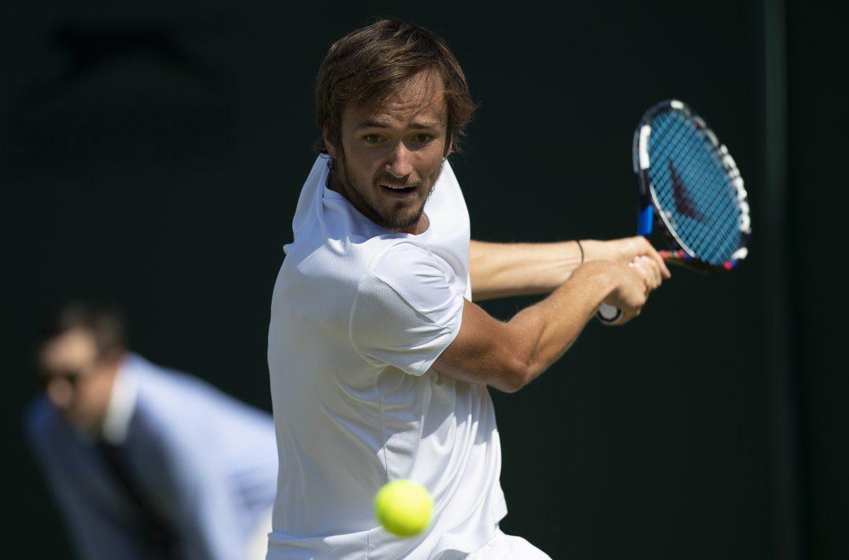 Medvedev en Wimbledon 2018