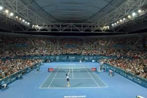 Pista central del torneo de Brisbane