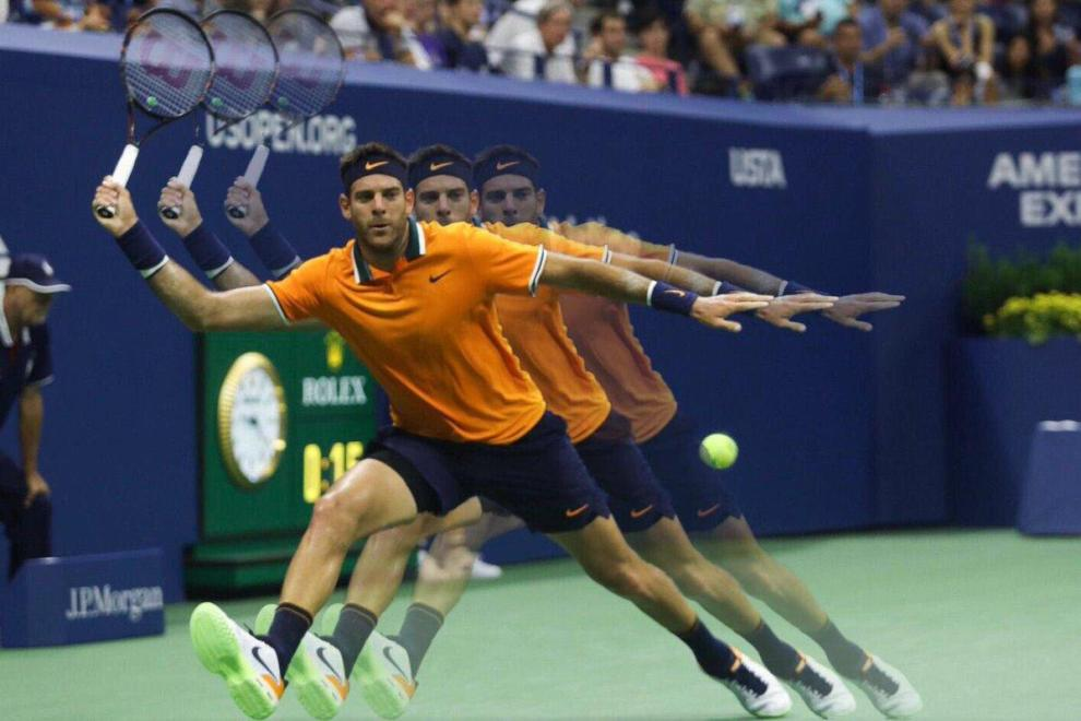 Juan Martín del Potro está por sexta vez en los cuartos de final del US Open | Foto: @ATPWorldTour_Es