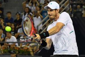 Murray golpea un revés en el ATP de Shenzhen