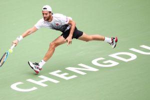 Jousa Sousa en el debut del ATP de Chengdu