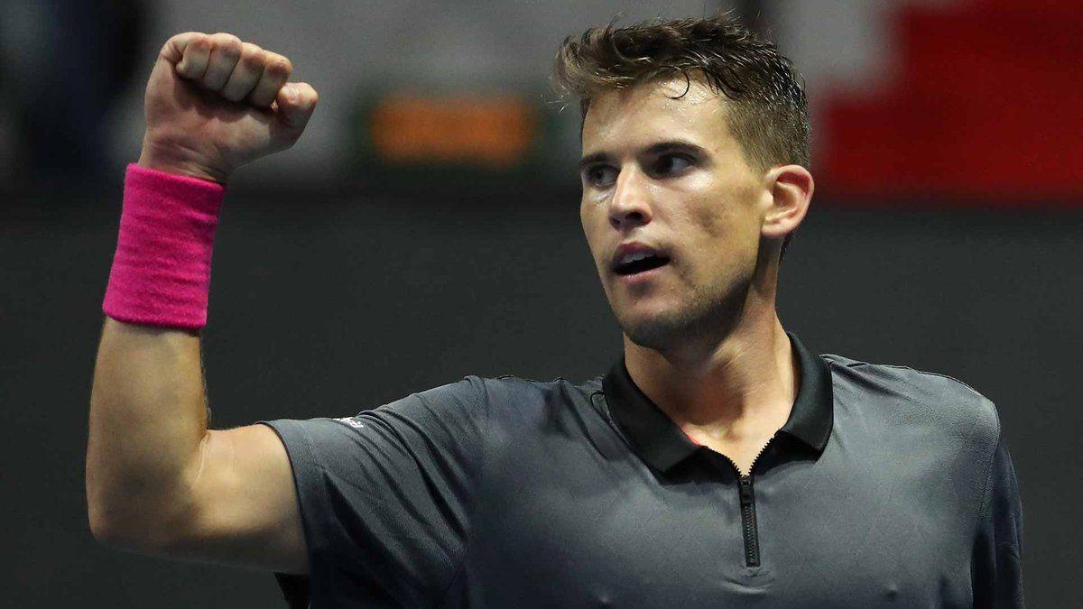 Thiem celebra una victoria en el ATP 250 de San Petesburgo