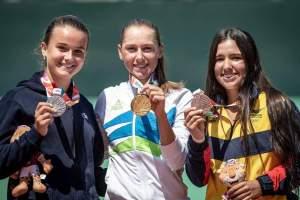Medallero femenino en tenis en los Juegos Olímpicos de la Juventud 2018
