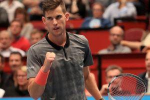 Thiem celebra un punto el ATP de Viena