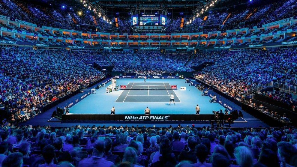 O2 Arena de Londres donde se disputan las Nitto ATP Finals
