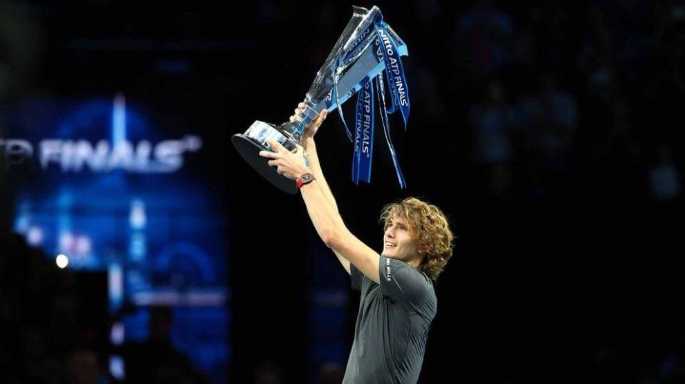 Tenistas nacidos a partir de 1995 más títulos ATP