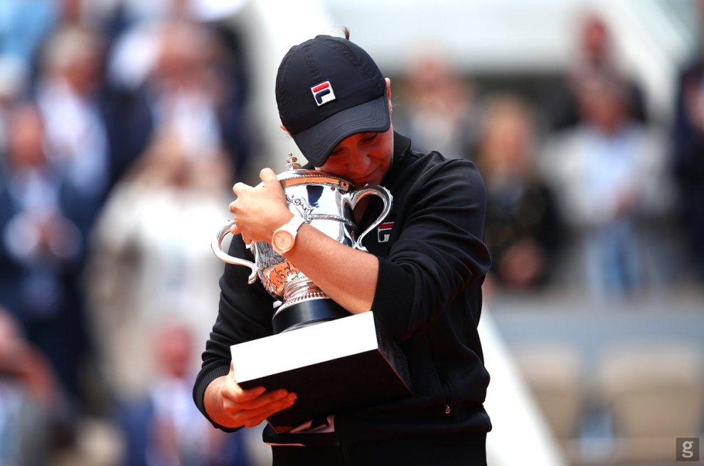 Ashleigh Barty campeona Roland Garros 2019
