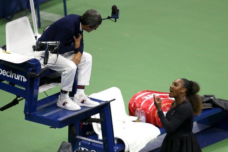 Carlos Ramos veto Serena Williams US Open