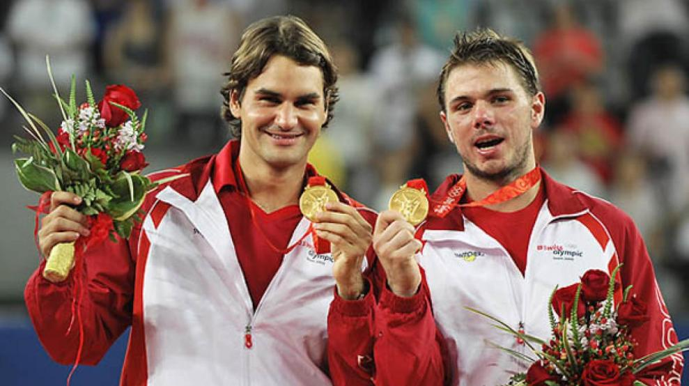 Resultado de imagen para federer juegos olimpicos