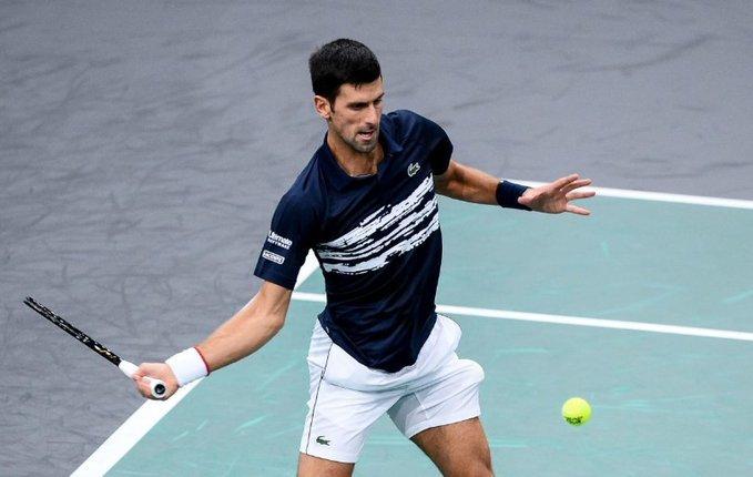 Djokovic Edmund Masters 1000 París 2019