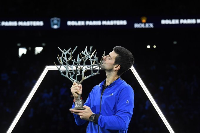 Djokovic final Masters 1000 París 2019