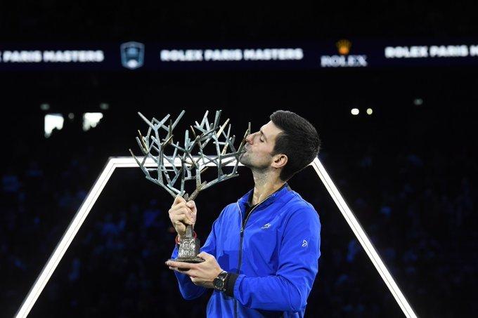 Djokovic final Masters 1000 París 2019