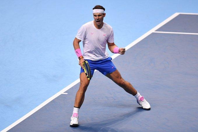 Nadal Tsitsipas Nitto ATP Finals 2019
