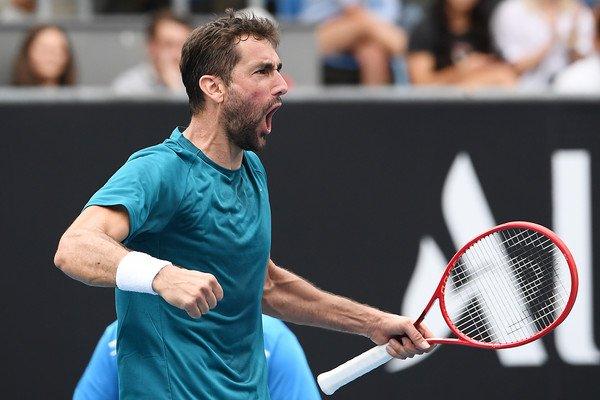 Bautista Cilic Australian Open 2020