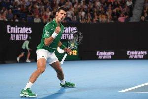 Djokovic Struff Australian Open 2020