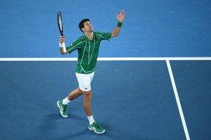 Djokovic Thiem Australian Open 2020