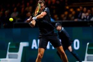 pospisil medvedev crónica ATP 500 Rotterdam debut