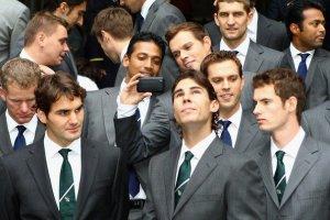 Nadal Federer charla Instagram