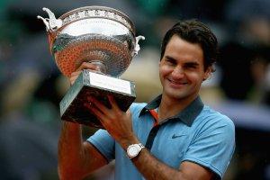 Federer título Roland Garros