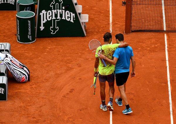 Thiem Nadal Roland Garros