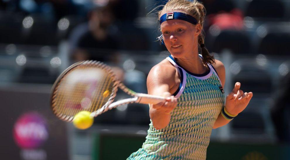 Hercog Bertens WTA Roma