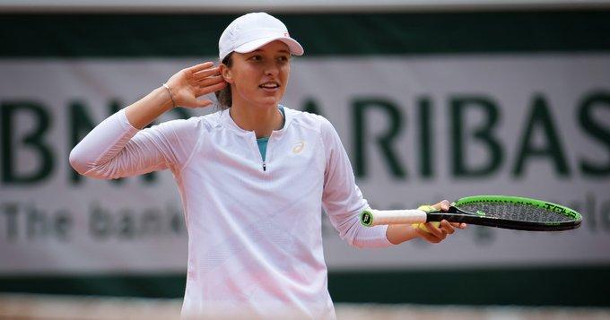 Swiatek Kenin Roland Garros