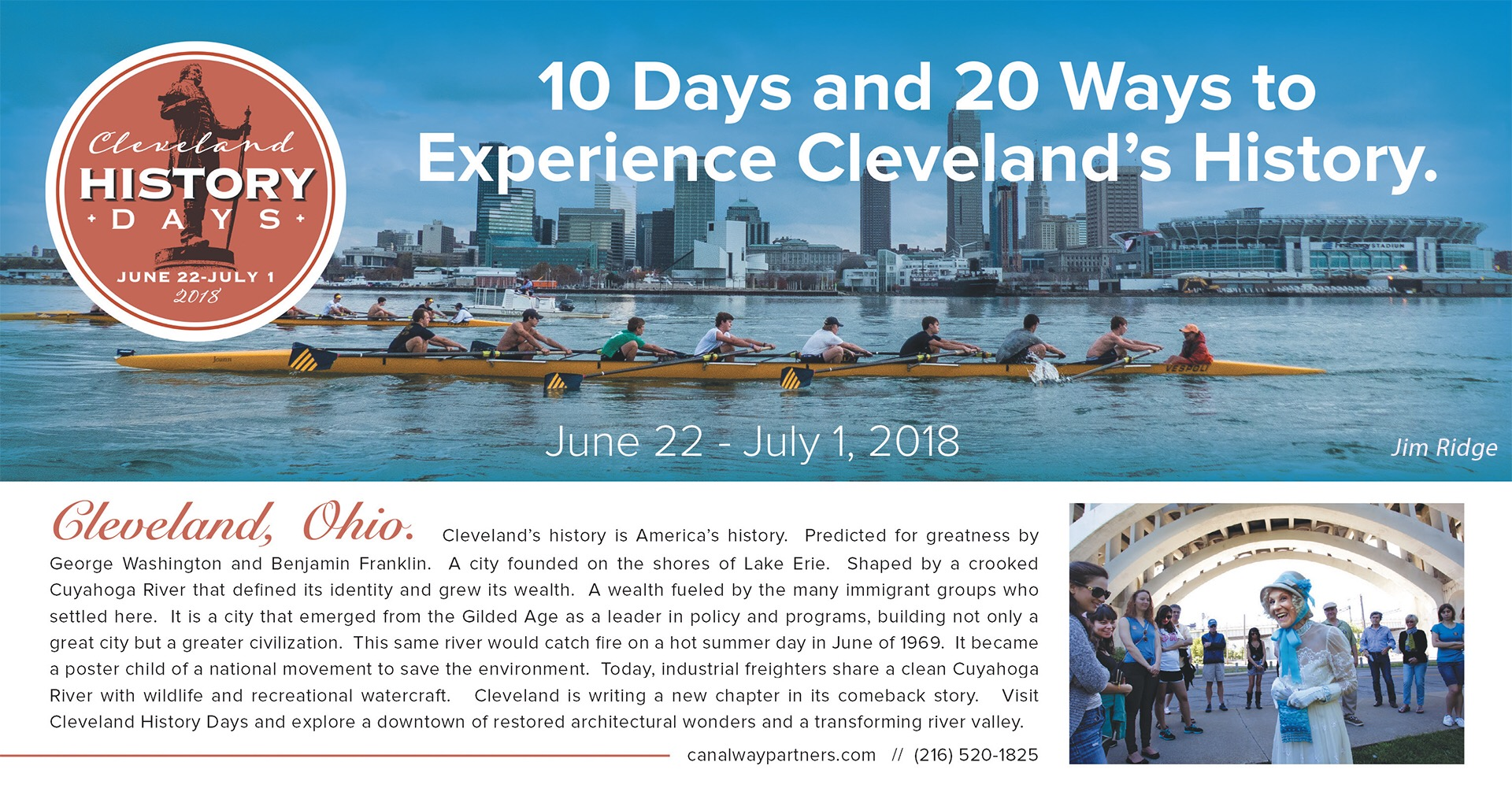 2nd Annual Cleveland History Days | Canalway Partners