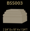bss003 square column base