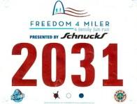 2013-07-04 | Freedom 4 Miler [#2031]