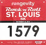 20141019-Rock n Roll 5K Bib