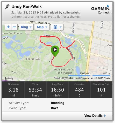 Undy Run/Walk