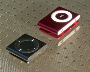 4th and 2nd Generation iPod Shuffles