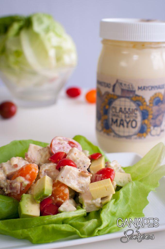 The Best BLT Avocado Chicken Salad
