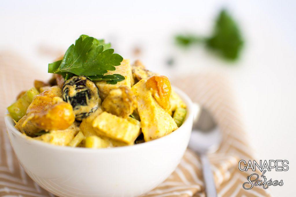 Whole30 Cashew Curry Raisin Chicken Salad