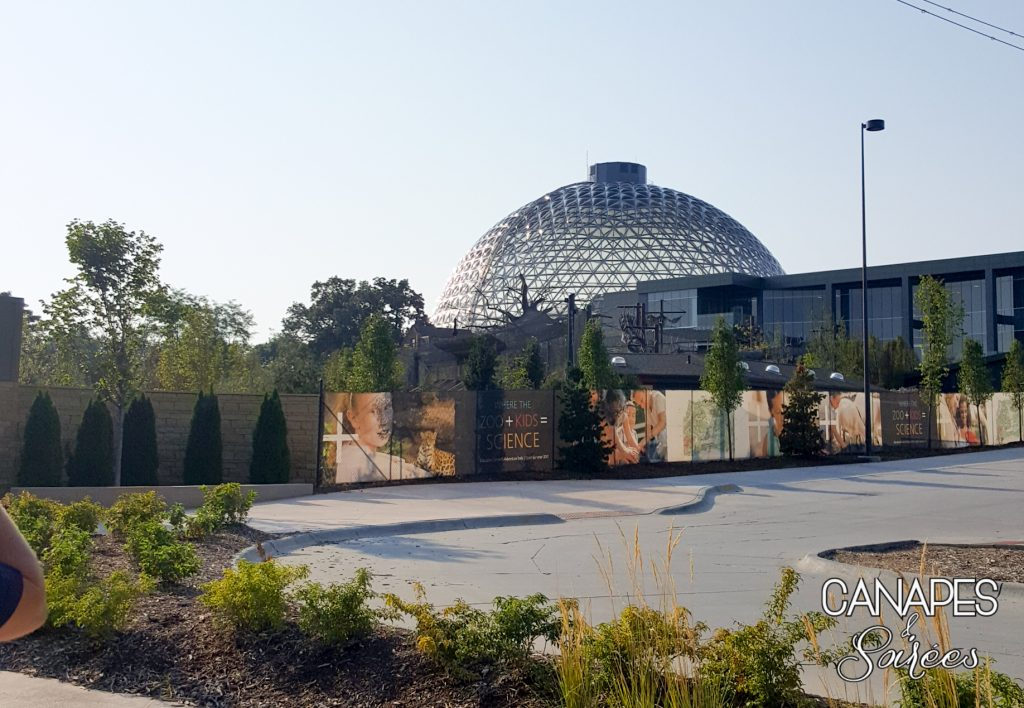 Entrance to the Henry Doorly Zoo in Omaha