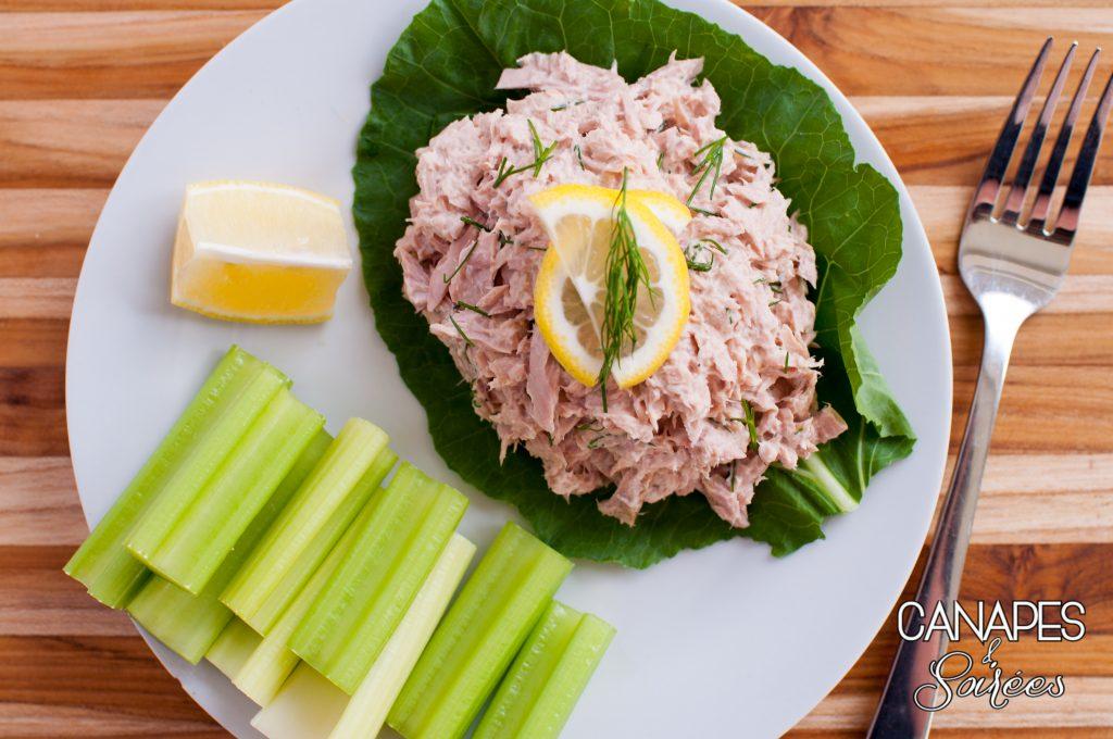 Whole30 Lemon Dill Tuna Salad