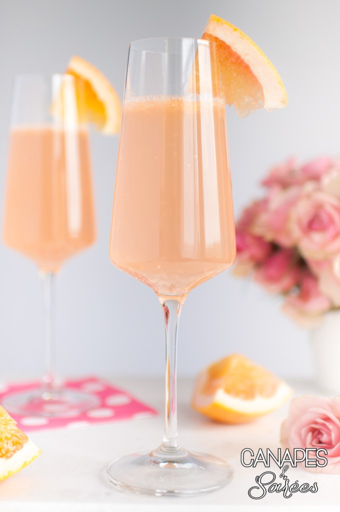 Blushing Grapefruit Rosé Cocktail