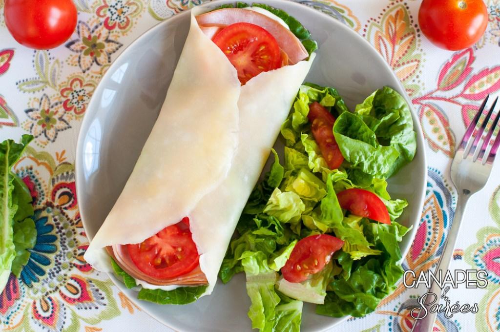 Jarlsberg Low Carb Folios Sandwich Wraps