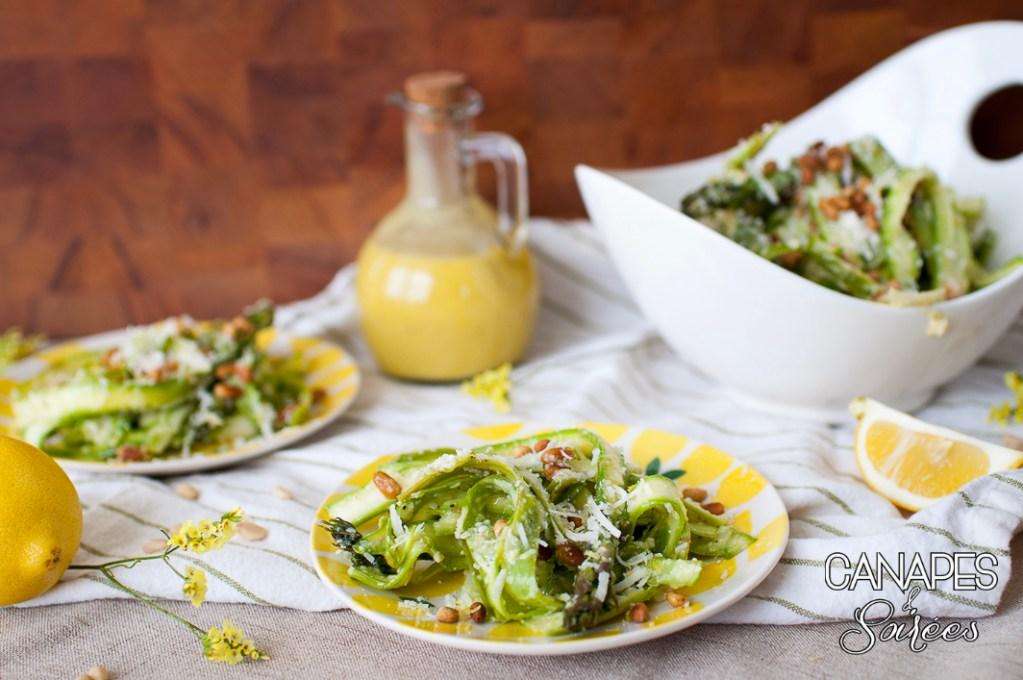 Shaved Asparagus Salad