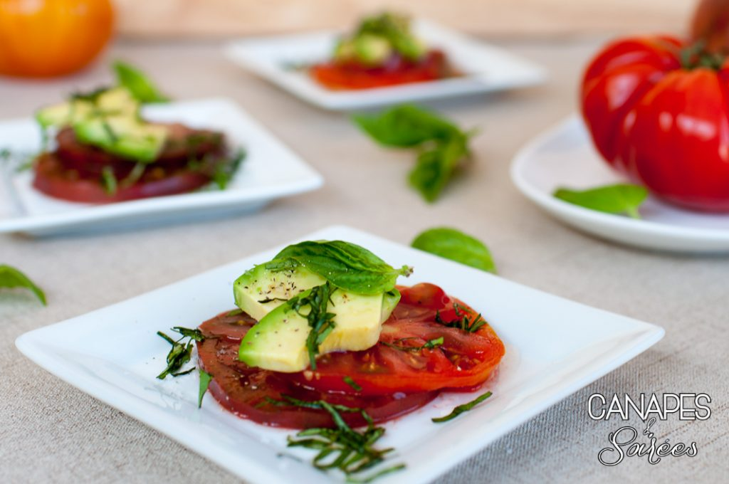 Heirloom Tomato Avocado Salad