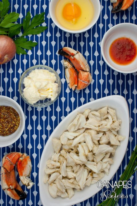 Ingredients for Mini Low Carb Chesapeake Crab Cakes-1