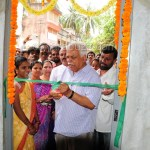 INDIRA canteen, inauguration