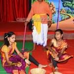 chibalgeri school science drama dist level 1st prize