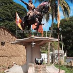 Killa ,shivaji statue pratistapane