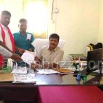 Dalita kempu sene, submitted memorandum ,Haliyal taluka hospital