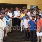 dalita samudaya janarinda MLC SLG virudda manavi