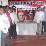 ,Saradhar Vallabhai Patel , Indira Smarane, Honnavara Block Congress