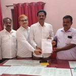 Kuppu Hanumanth Gouda appointed the New President , Honnavar Block Congress Backward Cell