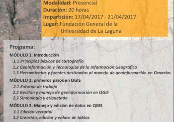 Curso: Tecnologías de la Información Geográfica (I). Creación, edición y análisis de información geográfica con software libre (QGIS 2.18)