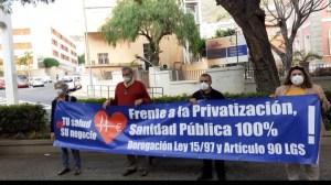 Manifiesto contra la privatización y el desmantelamiento de la Sanidad Pública